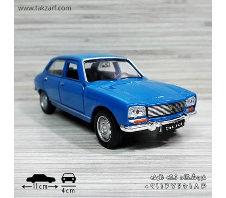 ماکت ماشین پژو 504