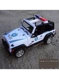ماکت ماشین جیپ پلیس