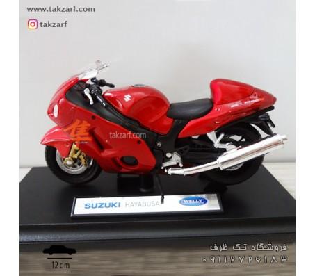ماکت موتور سوزوکی مدل هایابوسا مقیاس 1:18