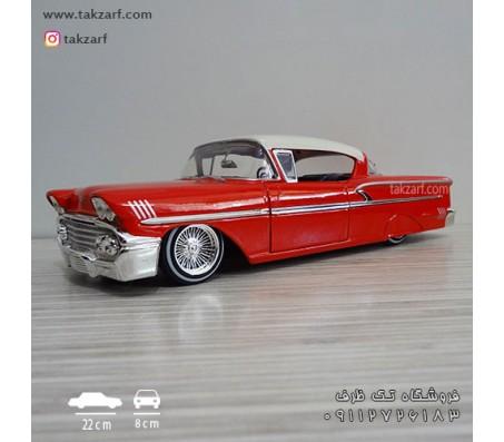 ماکت ماشین شورلت ایمپالا 1958