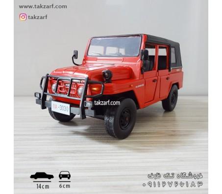 ماکت ماشین جیپ مقیاس 1:28