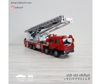 ماکت ماشین آتشنشانی نردبان دار