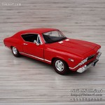 ماکت ماشین شورلت مدل چول 1968