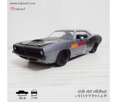 ماکت ماشین پلیموت باراکودا 1973