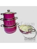 سرویس قابلمه و ماهیتابه 8 پارچه تک ظرف