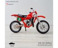 ماکت موتور هوندا مدل CR250 مقیاس 1:18