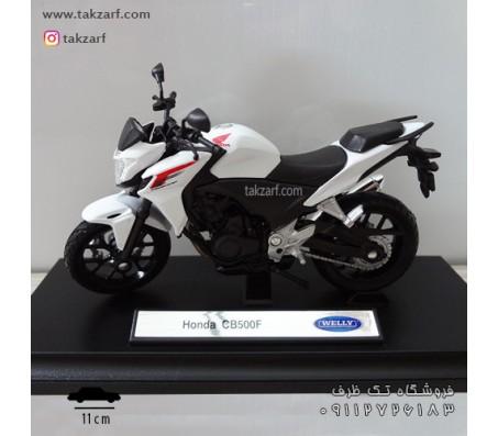 ماکت موتور هوندا مدل cb500 مقیاس 1:18